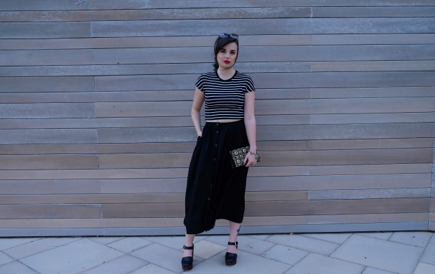 Fashion blogger, all black, zara, topshop