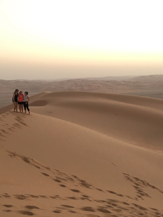 Moreeb Sand Dune (largest in the UAE), Liwa, Abu Dhabi, UAE, desert, travel blogger