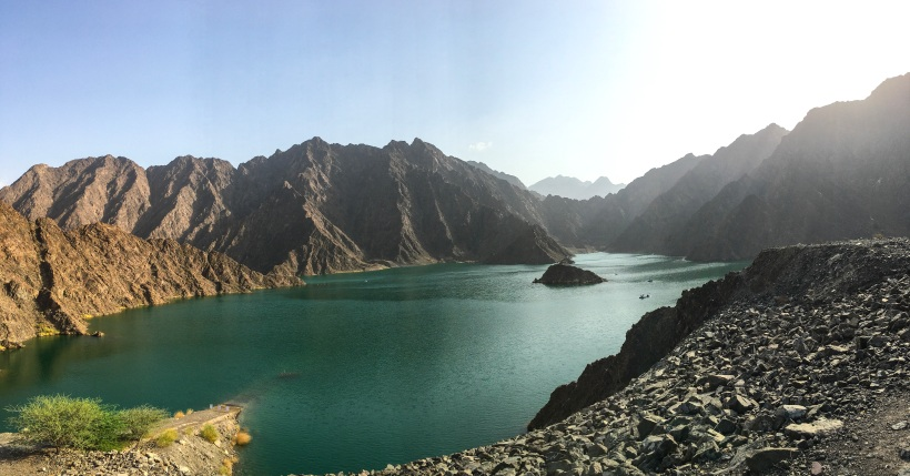 Beautiful Nature at Hatta Dam, Dubai, Middle East