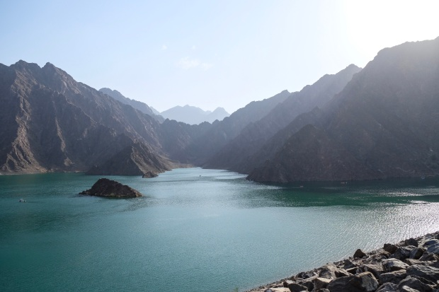 Beautiful Nature in Hatta Dam, Dubai
