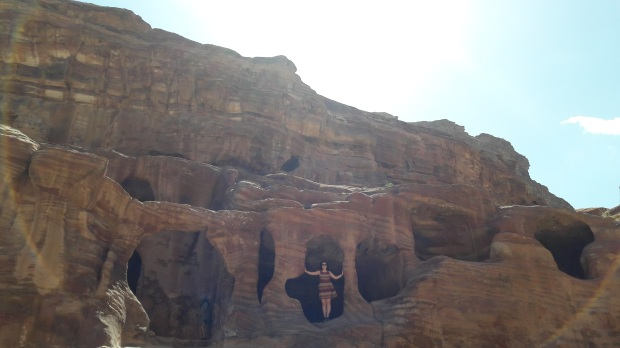 Caves at Petra Jordan, wonder of the world, travel