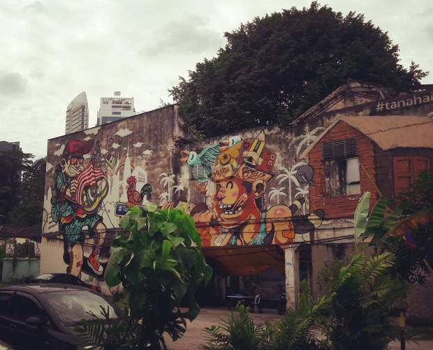 Street Art, Kuala Lumpur, Malaysia, South East Asia