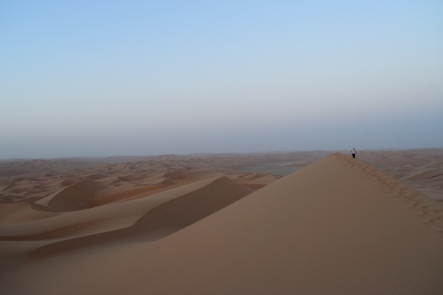 Moreeb Sand Dune (largest in the UAE), Liwa, Abu Dhabi, UAE