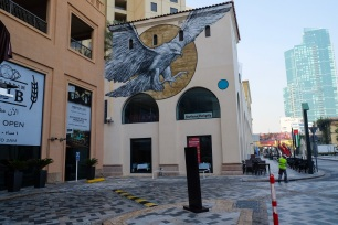 Eagle Street Art Mural at JBR, Dubai, UAE