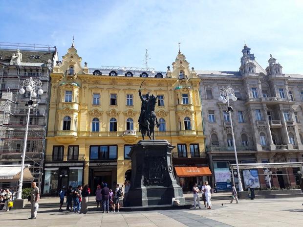 Ban Jelačić Sqaure, Zagreb, Croatia