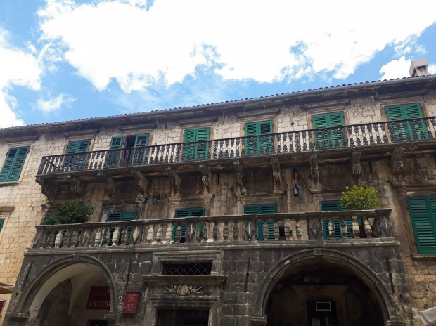 Old Building in Kotor, Montenegro, the Balkans