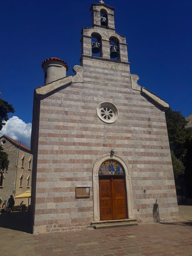 Church in Budva, Montenegro, the Balkans