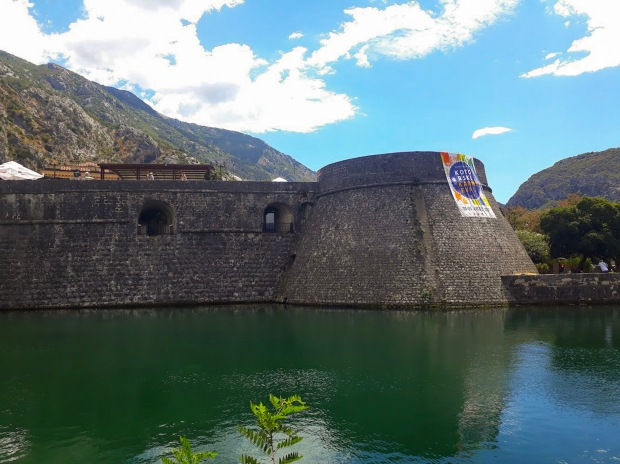 City Walls in Kotor Montenegro the Balkans