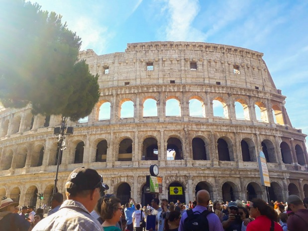 Wonder of the World the Colosseum, Rome, Italy, Europe