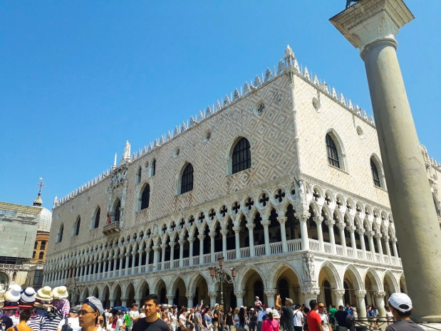Doge's Palace, St. Mark's Square, Venice, Italy