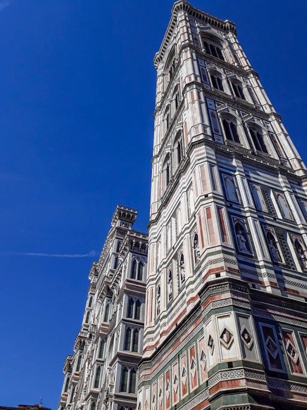 Details at the Duomo in Florence Italy