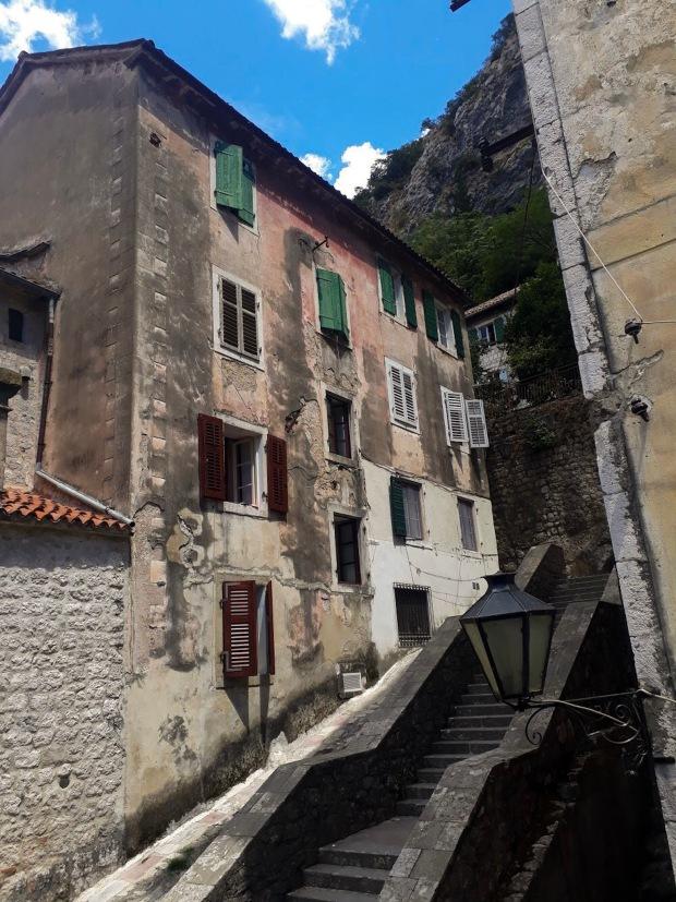 Buildings in Kotor, Montenegro, the Balkans