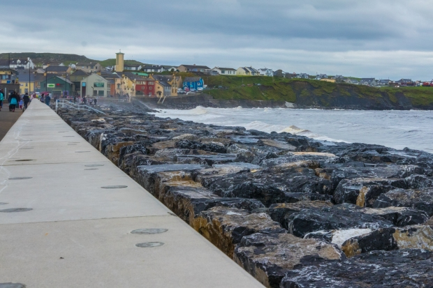 Lahinch Beach and Town Co. Clare Ireland