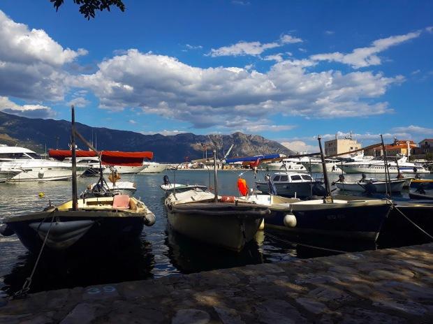 Marina in Budva, Montenegro, the Balkans