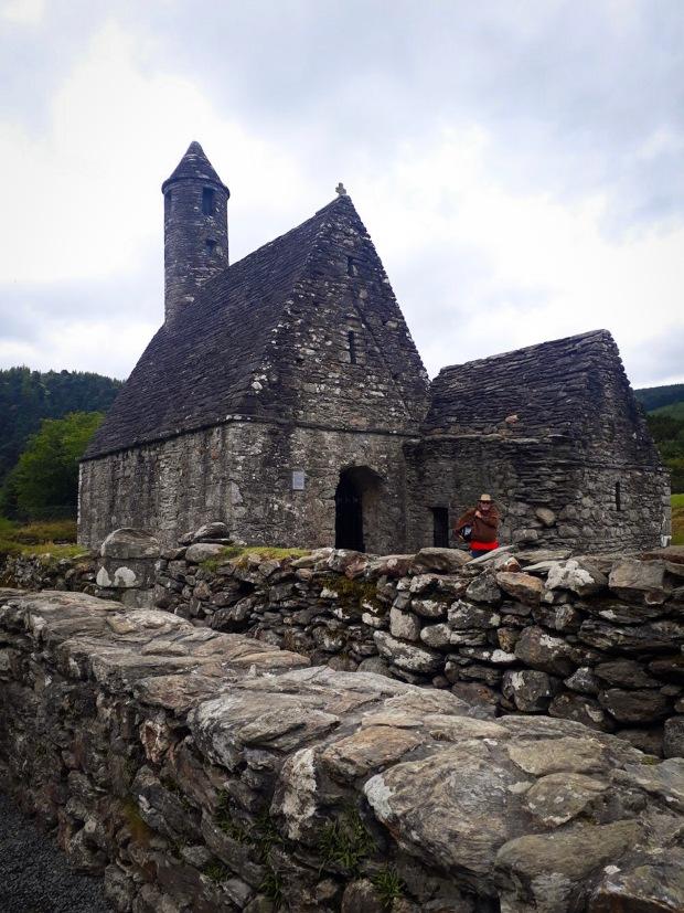 Monastery in Glendalough Co. Wicklow Ireland