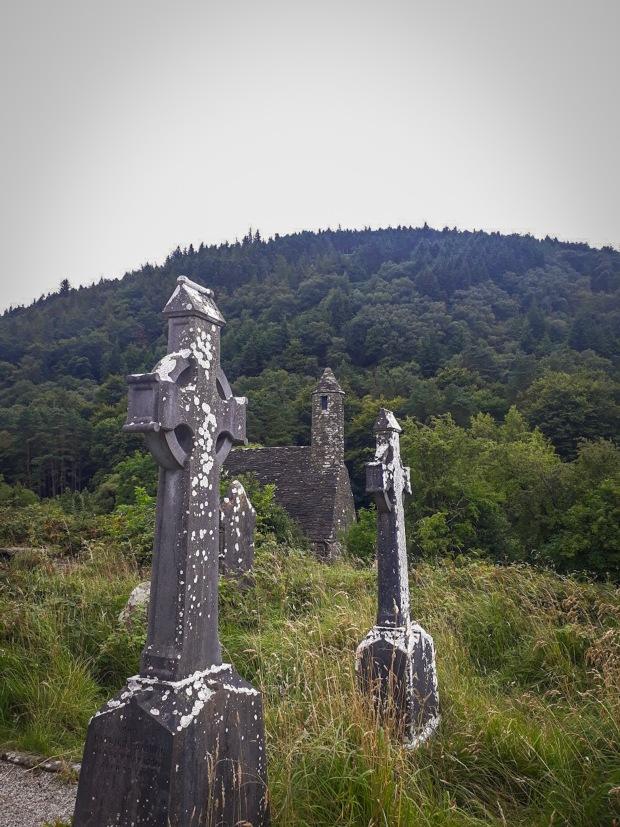 Old Graveyard in Glendalough Co. Wicklow Ireland