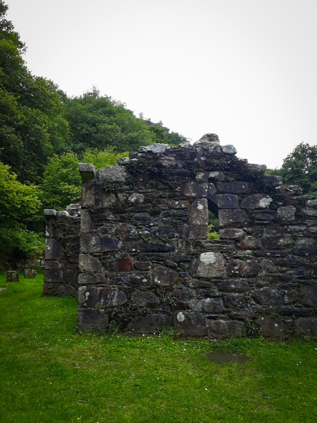 Ruined Church at Glendalough Co. Wicklow Ireland