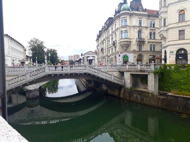 Triple Bridge, Ljubljana, Slovenia, Europe