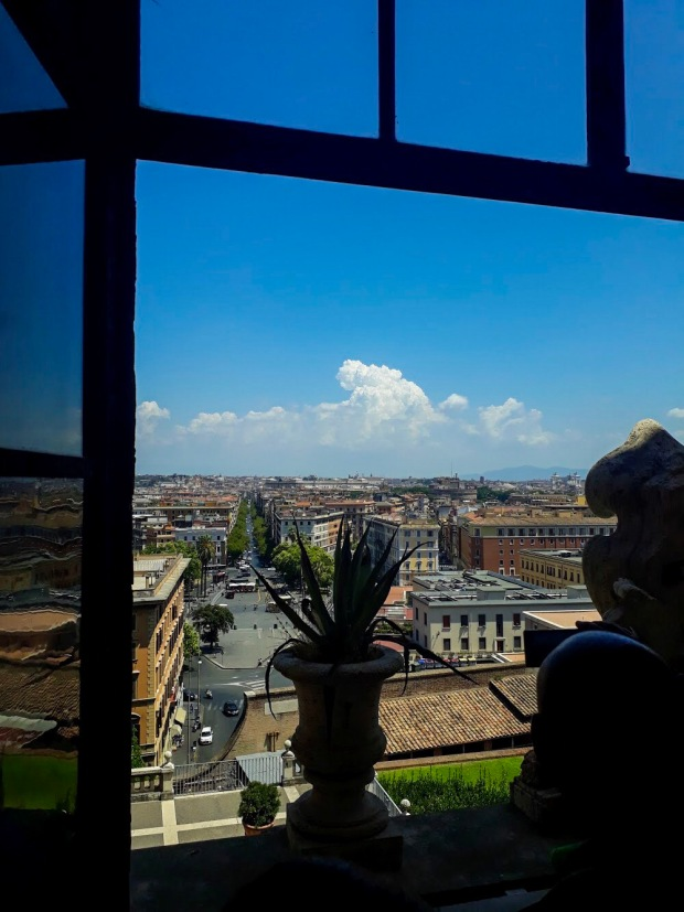 View from the Vatican, Rome, Italy
