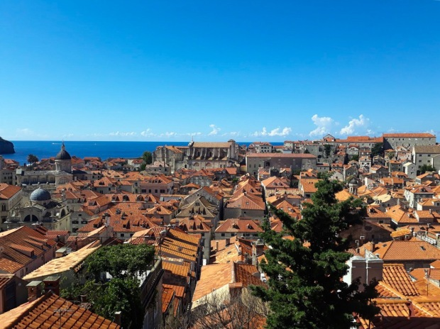 View of Dubrovnik from City Walls, Kings Landing, Croatia, Game of Thrones