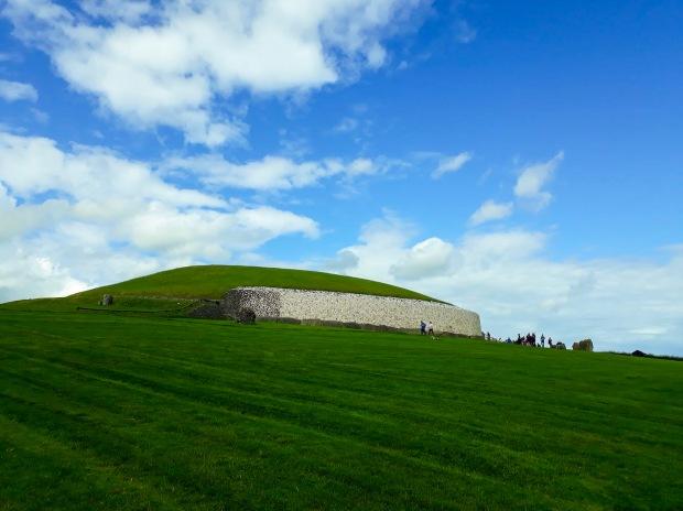 Newgrange on a sunny day, Co. Meath, Ireland